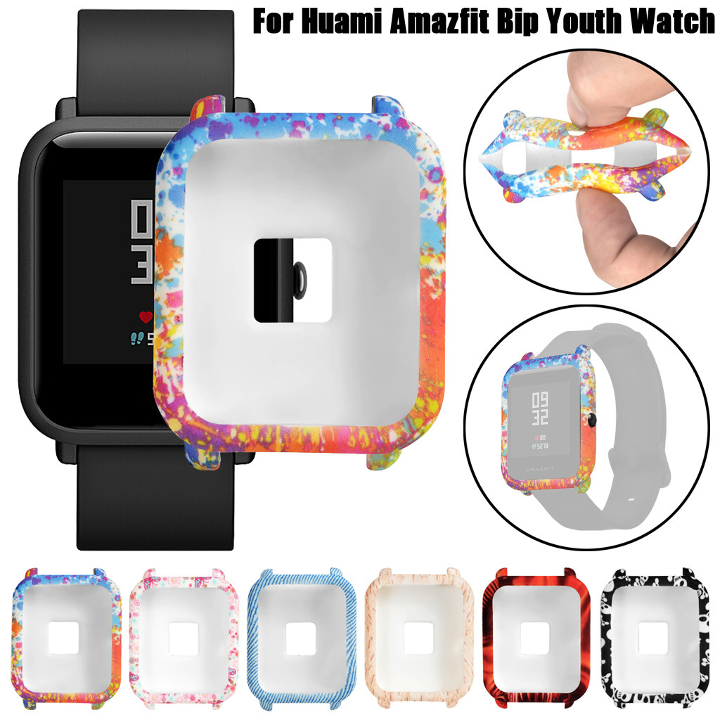 Cover Goods-Accessories Tpu-Protection Amazfit Bip Sporting Youth-Watch Watachband Soft
