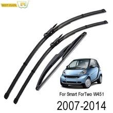 Misima – ensemble de balais d'essuie-glace pour pare-brise, pour Smart ForTwo W451 2007 – 2014, 2008, 2009, 2010, 2011, 2012