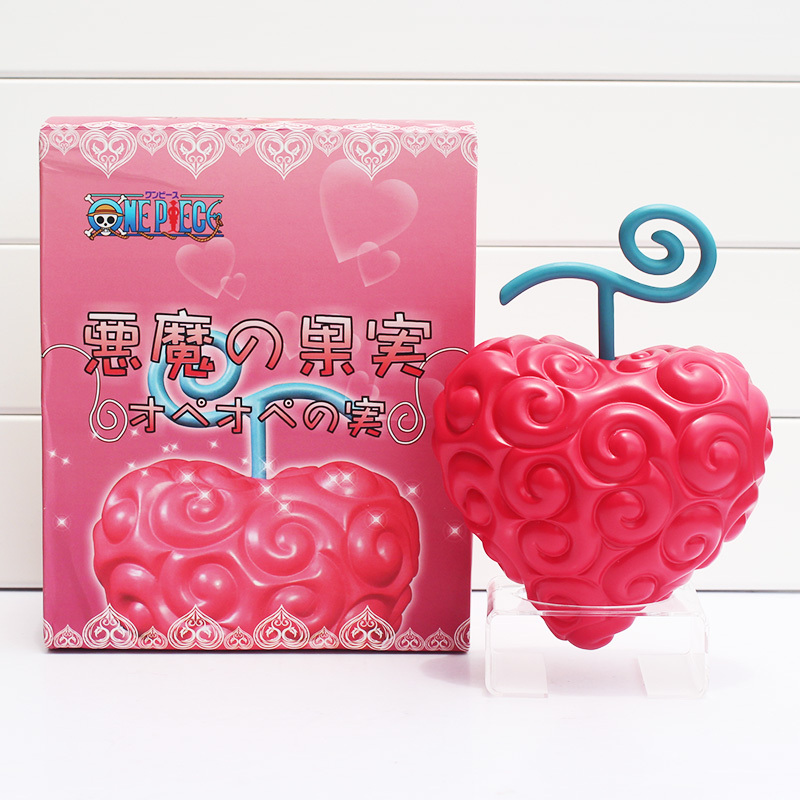One Piece Law Devil Fruit Heart Devil Nut PVC Action Figure Model Toys 18cm With Box Free Shipping