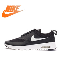 Original NIKE Official Authentic Breathble Black AIR MAX THEA Women's Running Shoes Sneakers Outdoor Athletic Sports Comfortable