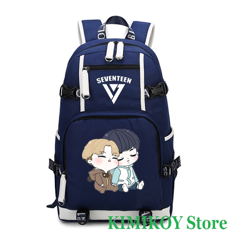 Backpacks High Quality Seventeen 17 Luminous Backpack Rucksacks Student School Travel Bags Daypack Laptop Bag