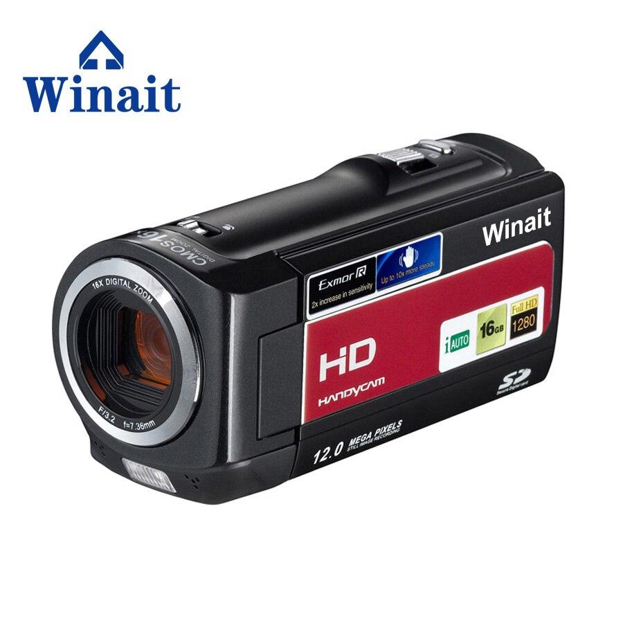 2017 winait haute qualité usage domestique caméra vidéo numérique HDV-777 Max 16 méga pixels livraison gratuite