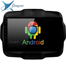For Jeep Renegade 2016 2017 Car pad intelligent Multimeida Player Android Computer system unit Glonass GPS NAVI map Radio Video