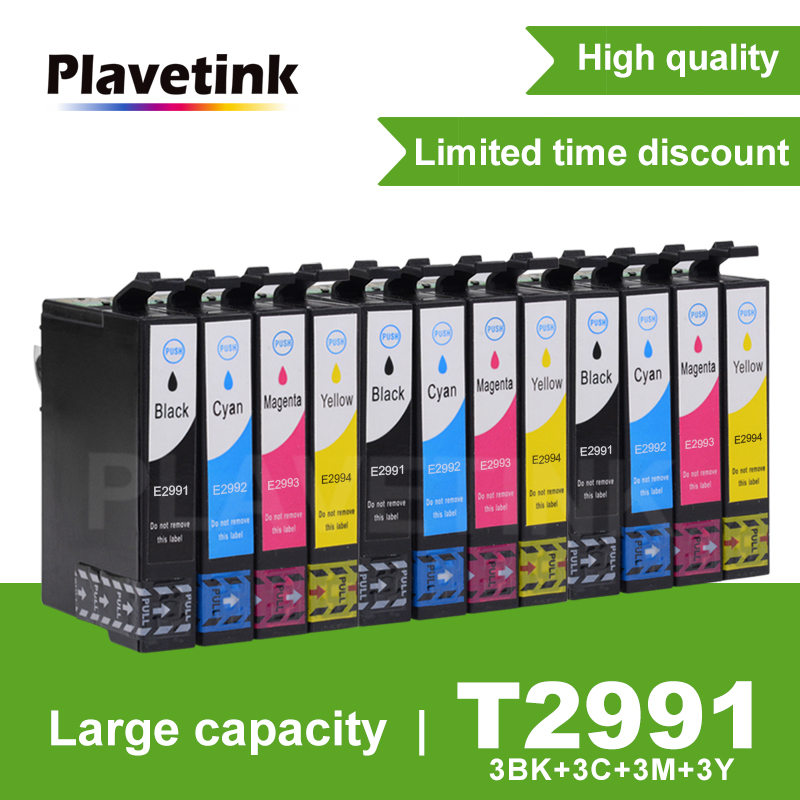 Plavetink T29XL T2991 T2991XL compatible ink Cartridges For <font><b>Epson</b></font> XP235 XP247 XP245 XP332 XP335 XP342 <font><b>XP345</b></font> XP435 XP432 XP445 image