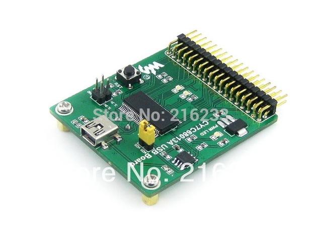 CY7C68013A Board USB (mini) CY7C68013 EZ-USB FX2LP USB Módulo Incorporado com 8051 Kit Módulo de Placa de Desenvolvimento Avaliação Core