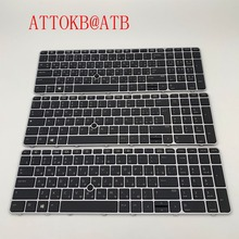 RU/IT/AR для hp EliteBook 850 G3 755 G3 G4 американская, с задней подсветкой Клавиатура ноутбука