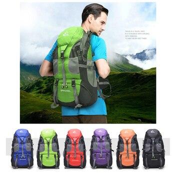50L Waterproof Hiking Backpack 2