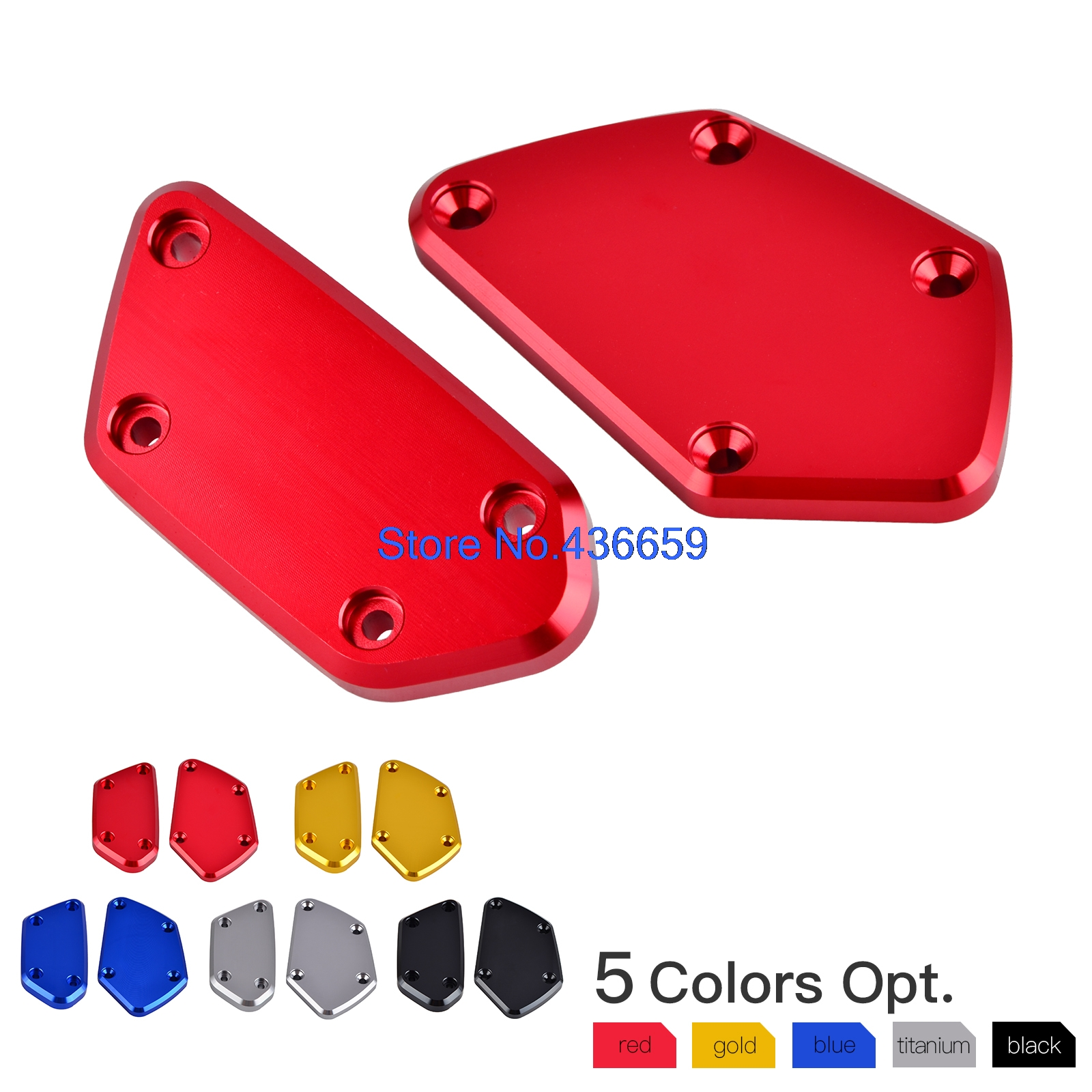 NICECNC Front Brake & Clutch Reservoir Fluid Tank Cap Cover For BMW R1200R R1200RS R1200RT R1200GS K1600 GT/GTL R NineT