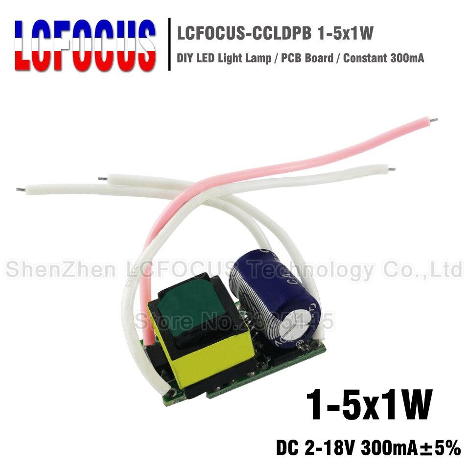 Power Supply Driver 3X1W AC 85V-265V DC 9V-12V LED Electronic Transformer BBC