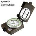Eyeskey водостойкий Выживание Военный компас походный Кемпинг армейский Карманный военный Lensatic Компас ручной военный инвентарь - фото