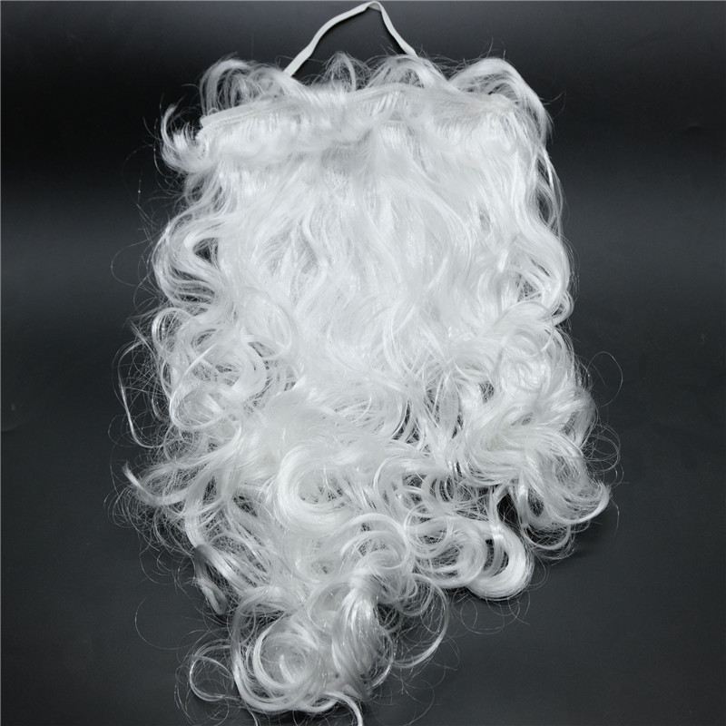 Santa Claus Christmas White Beard Wig Hairpiece Christmas Decor Fans Adult Child Cosplay Costumes