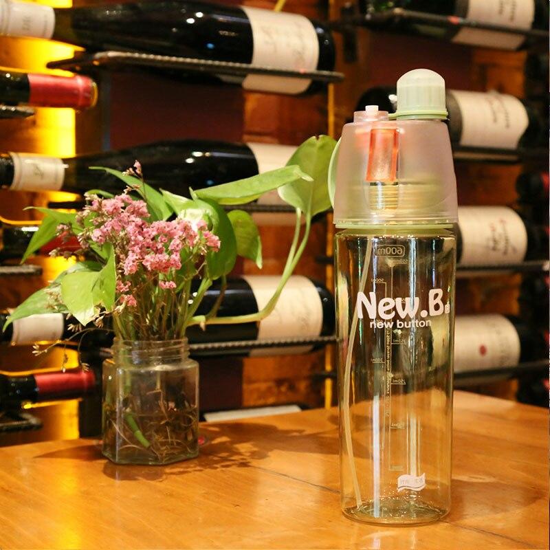 600 мл Портативный спортивные бутылки распыления бутылки спрей спортивные бутылки воды посуда 400 мл 1 предмет Открытый Спорт Тренажерный зал ...