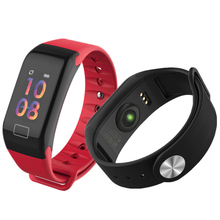 GIMTO Color Screen Fitness Tracker Smart Wristband Heart Rate Monitor Bracelet Measurement Of Pressure And Pulse Pedometer