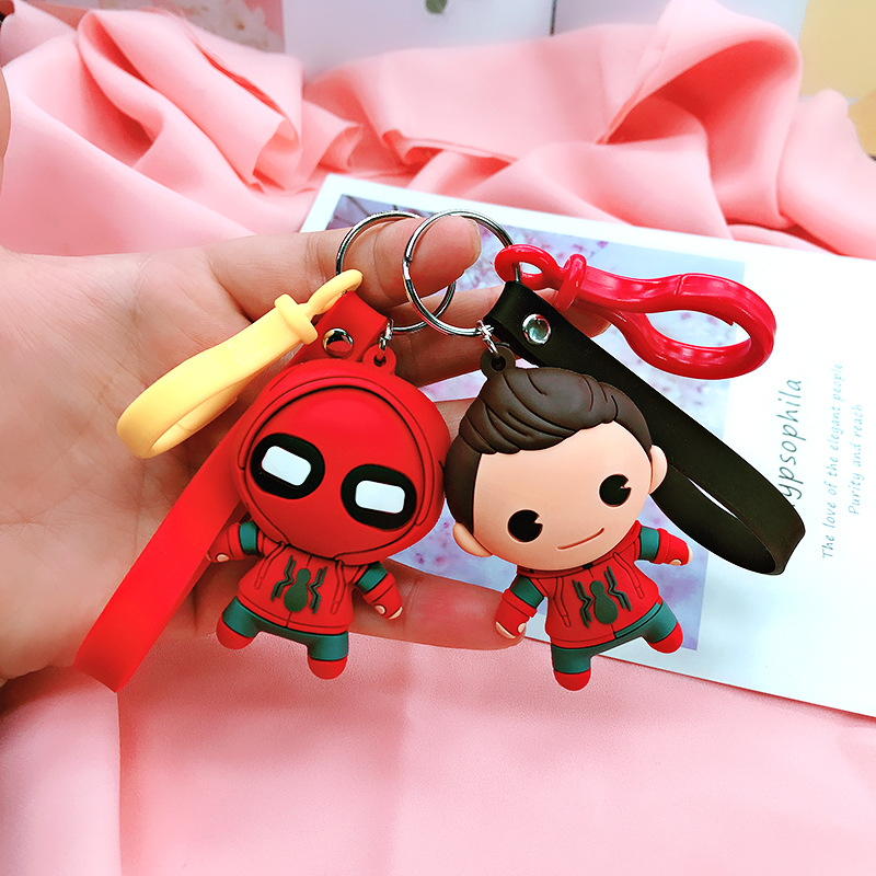 2019 PVC Keychain Cartoon Figure South Park Star Wars Game of Thrones Marvel Avenger Metal Ball Chain Key Chain Ball chain image