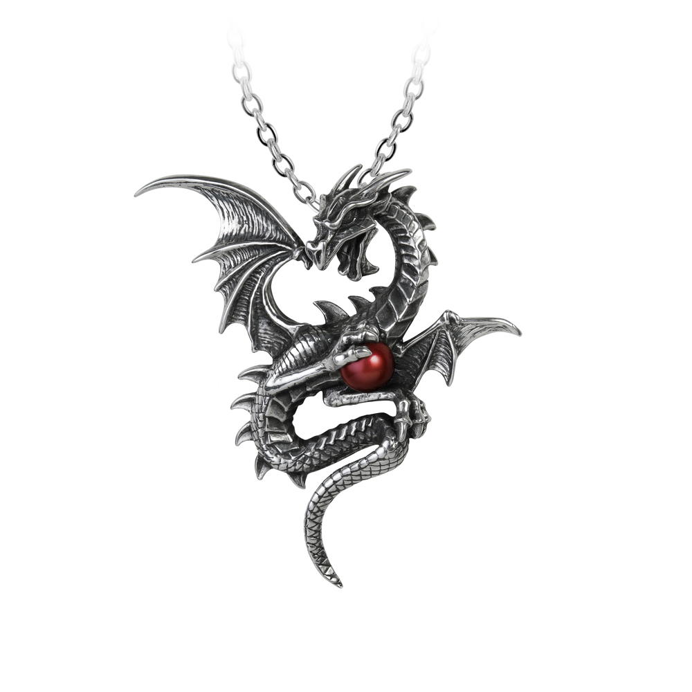 Punk Dragon Necklace set with rubies for women men unisex Cool metal chain Pendant Necklace Mens necklace Snake ChainsPunk Dragon Necklace set with rubies for women men unisex Cool metal chain Pendant Necklace Mens necklace Snake Chains