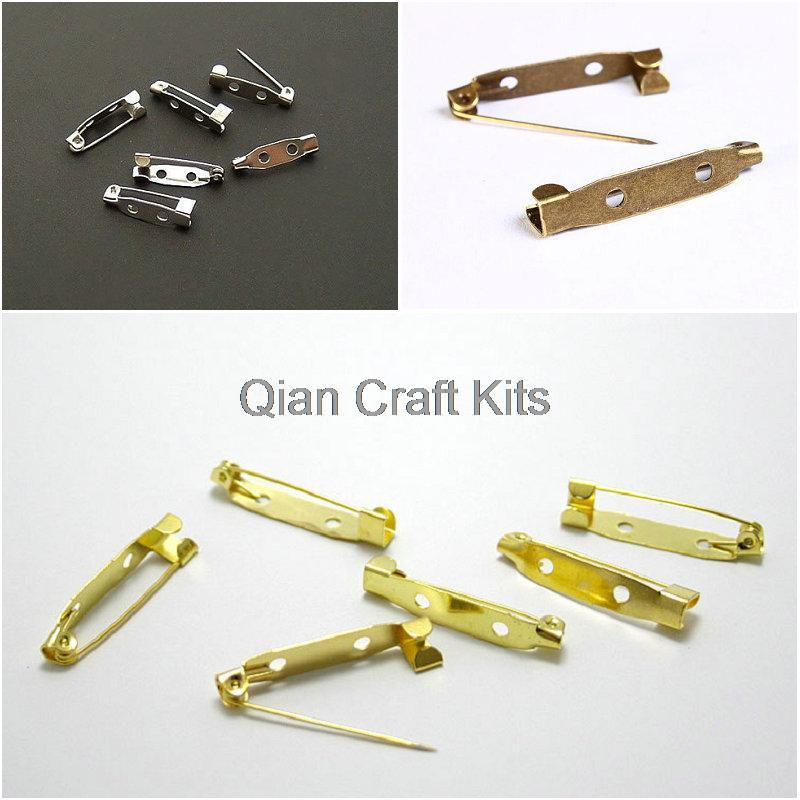 500pcs mixed colors golk,silver,bronze 20mm Safety pin, brooch, decorative, yarn holder, kniting, accessories tools