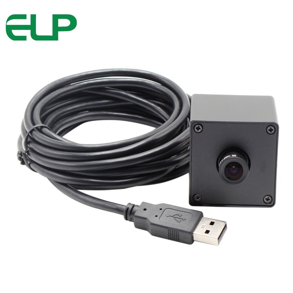 5MP 2592*1944 cmos OV5640 MJPEG&YUY2 mini box webcam usb camera with 2.1mm lens free shipping 5mp 2592 1944 high resolution cmos ov5640 mjpeg