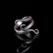 Rinhoo – bague gothique en titane et acier, bijoux à la mode, taille ajustable, qualité supérieure