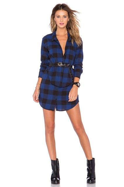 Flannel Formal Dress