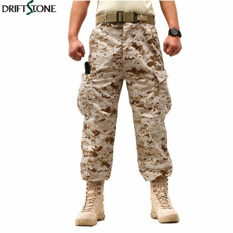 US Army Camouflage Pants Military SWAT Tactical Camouflage Trousers 7 Colours Military Pants Free Shipping