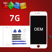 1 PCS Grade OEM Quality 4.7 inch Replacement Screen LCD For iPhone 7 Display With Digitizer 3D Touch Screen Assembly 5pcs oem quality pantalla for iphone 7 lcd screen with goos 3d touch digitizer display assembly replacement free shipping