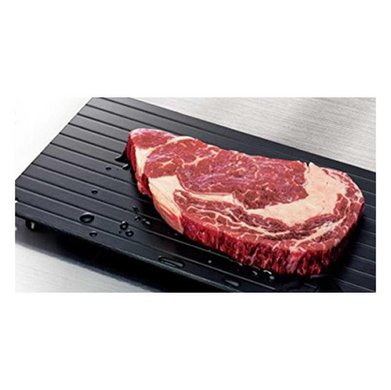 Memperlakukan Manis Cepat Defrosting Tray Defrost Daging atau Makanan Beku dengan Cepat Tanpa Listrik Microwave