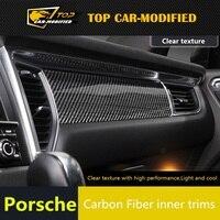 Бесплатная доставка top car модифицированный для Macan углеродное волокно части, пригодный для порш Макан внутренней отделки углеродного волокн