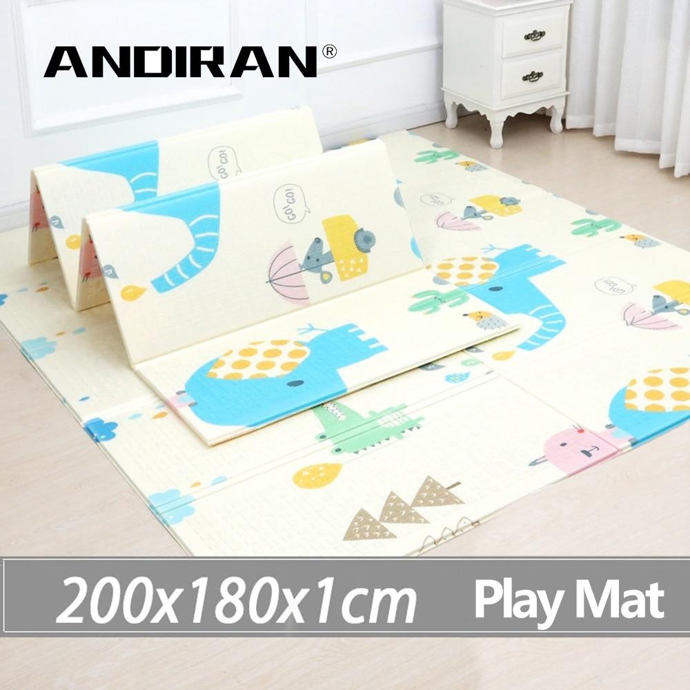 Tapis de jeu pour bébé tapis de jeu pour enfants tapis de jeu pour bébé 200*180*1 cm mousse XPE Puzzle tapis de jeu pour bébés tapis souple éducatif