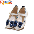 New Girls PU Leather Loafer Fashion Sneakers Lovely Children Kids Shoes Flats Heels Sandals Casual For Little Big Kid Size 21-36