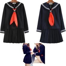 Japanese School Girl Students Sailor Uniform Lolita Sexy Cosplay Costume Skirt