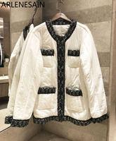 Arlenesain на заказ зимняя женская одежда повседневное пальто зимнее теплое модное пальто женское уличная куртка пальто женское хлопковое паль