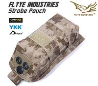FLYYE MOLLE Waterdichte Strobe Pouch voor SDU-5E MS2000 Infrarood Flitsers Survival Kits Houder Multicam AOR ATACS AU Outdoor C014