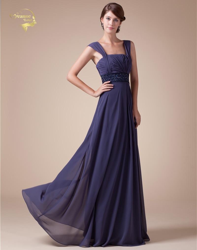 Fashion Vestido De Festa Longo Purple Formal Long Evening Dresses 2019 New  Arrival Chiffon Robe De 4679016d6231