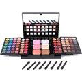 78 color Profesional Paleta de Maquillaje Sets Combo mate y brillo sombra de ojos Corrector Iluminador impermeable maquillaje fundación Y2