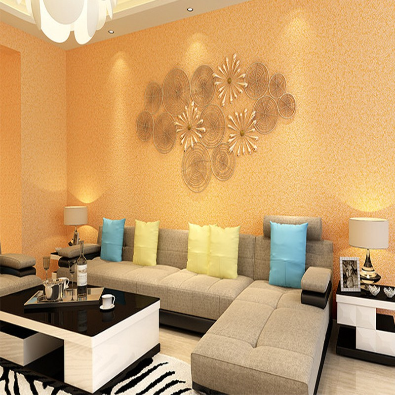 Free Shipping clothing store beauty salon foot shop imitation Gray cement solid color wallpaper restaurant living room wallpaper restaurant canteen mess hall chair brown white green gray purple ect color free shipping