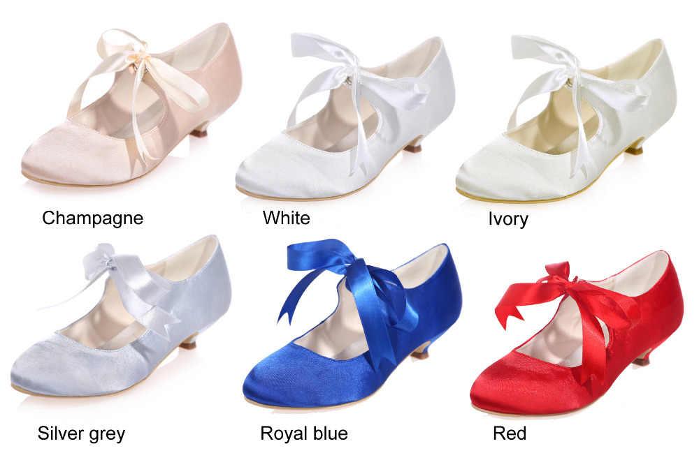 ... Creativesugar vintage style ribbon tie lace up mary jane kitten heel  woman satin evening dress shoes ... 587f4f6620f8