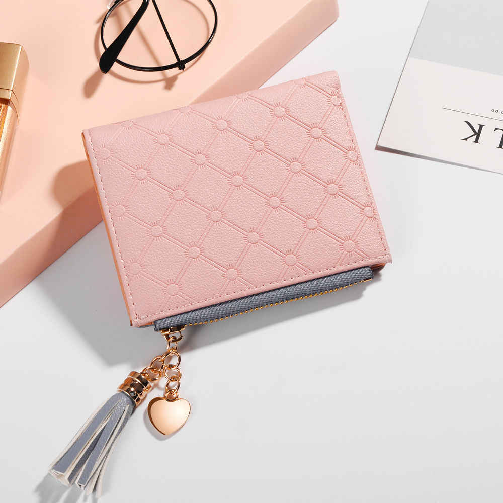 ... 2019 New Women s Cute Fashion Purse Leather Long Zip Wallet Coin Card  Holder Soft Leather Phone 89796030bd18