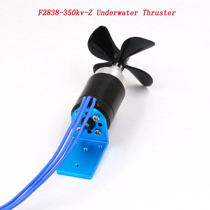 F2838 350kv Z Underwater Thruster Dia 60mm CW CCW Propeller Waterproof Motor with 2 4kg Thrust