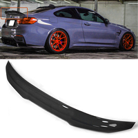 Autoleader Carbon Fiber Car Spoiler Wings Trunk Lid Spoiler Wing PSM Style High Kick Boot Spoiler Wing for BMW F82 M4 2015 2019