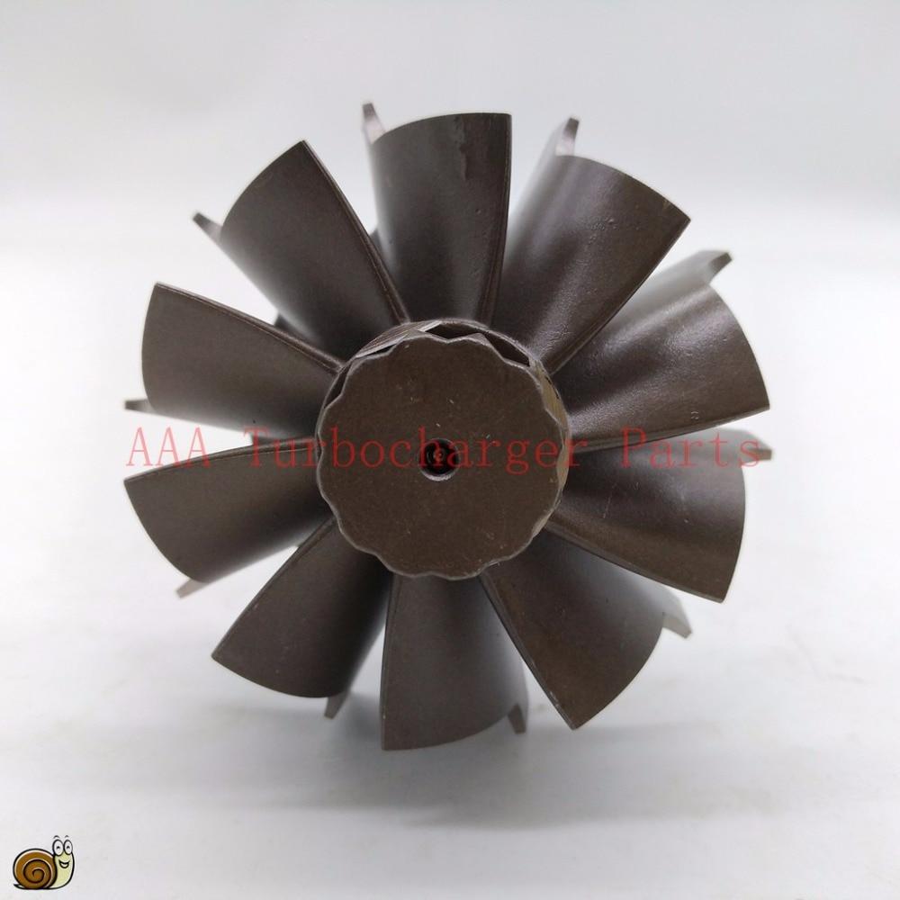 HX35 Turbocharger parts Turbine wheel 60x70mm 10blades supplier AAA Turbocharger Parts