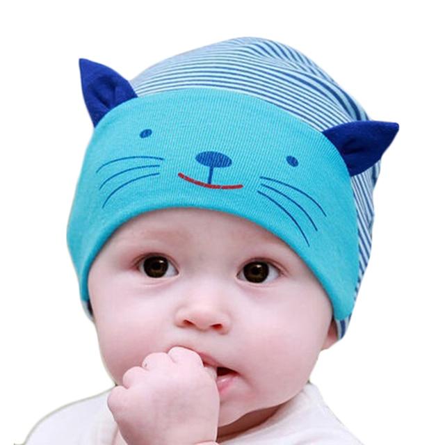 baby caps cute cat ear design baby beanie kids hats f591b4542a6