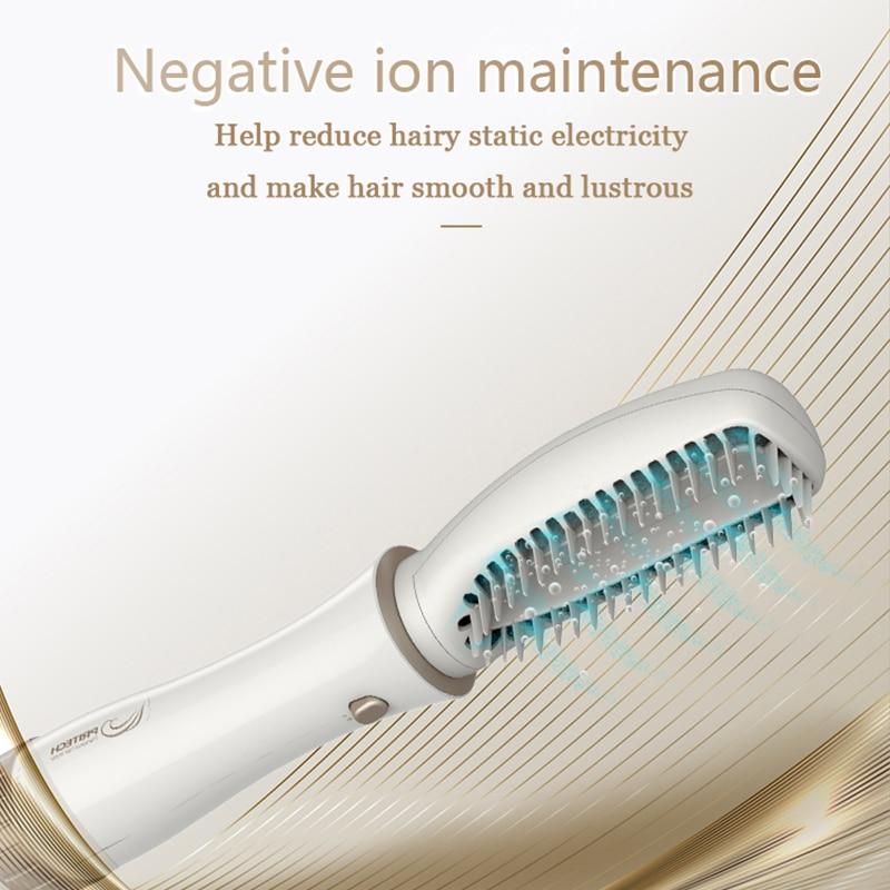 PRITECH Multifunctional Blow Hair Dryer Professional Hair Curler Hair Styling Tools Hairdryer Curler Brush Powerful Hair Dryer