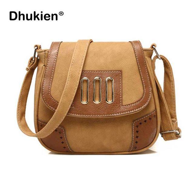 New PU Leather Shoulder Messenger Bags Women Ladies Casual Small Cross Body Handbags  Hollow Out Bolsas Feminina H15053 01cb8bafc0e81