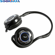 universal hifi music stereo headset sports headphone earphone mic for iphone samsung galaxy htc tablet pc mobie phones SOONHUA Foldable Sports Wireless Bluetooth Headphones Hifi Stereo Sound Earphone Music Gaming With Mic For Tablet PC iPhone iPad