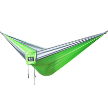 High-intensity camping 2-person hammock 300 * 200 cm can accommodate 300 kg, Accessories need to be purchased separately.