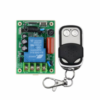 RF AC 220V 3000W 30A One Transmitter 1 Channel Relays Smart Wireless Remote Control Light Switch
