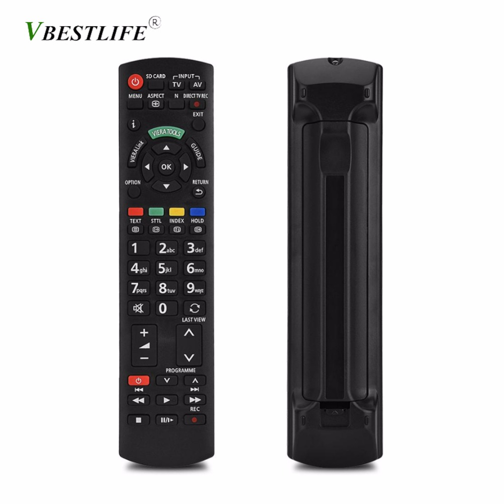 Black Wireless Mini Ultra Slim Keyboard and Mouse For Easy Smart TV Contol for Panasonic TX-L50B6B Smart TV