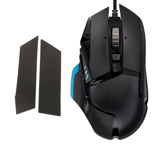 US $1 15 18% OFF 1Set On the Side of the Anti Sweat Stickers Mouse Skates  FOR Logitech G502 Mouse-in Mouse Pads from Computer & Office on