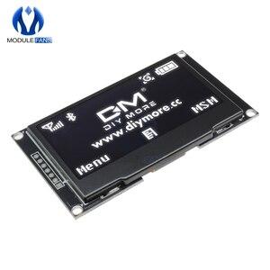 "Image 2 - 2.42 ""2.42 Inch Digitale Lcd scherm 12864 128X64 Oled Display Module C51 Board Voor Arduino Groen/Geel/ wit/Blauw SSD1309 STM32"