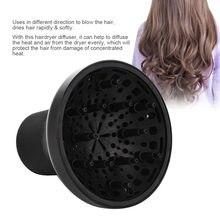 Plástico pelo secador de pelo difusor cubierta Salon rizado pelo difusor  cubierta estilo peluquería rizo herramienta de bricolaj. 0b42b2ecee88
